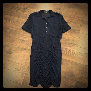 Antonio Melani ruched shirt dress